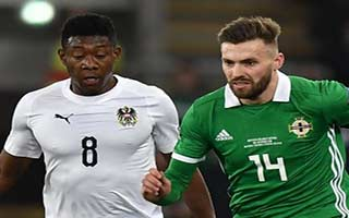 UEFA Nations League                             – League B – Group 3 Northern Ireland 1-2 ออสเตรีย 18-11-2018