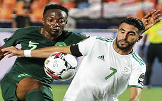 Africa Cup of Nations 2019                             – Semi-Final Algeria 2-1 Nigeria 14-07-2019