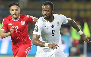 Africa Cup of Nations 2019                             – Round of 16 Ghana 1-1 Tunisia 08-07-2019