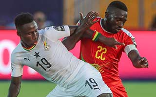 Africa Cup of Nations 2019                             – Group F Guinea-Bissau 0-2 Ghana 02-07-2019