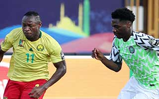 Africa Cup of Nations 2019                             – Round of 16 Nigeria 3-2 Cameroon 06-07-2019