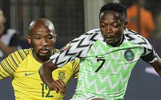 Africa Cup of Nations 2019                             – Quarter Final Nigeria 2-1 South Africa 10-07-2019