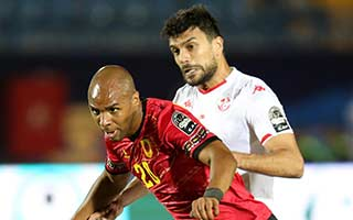 Africa Cup of Nations 2019                             – Group E Tunisia 1-1 Angola 24-06-2019