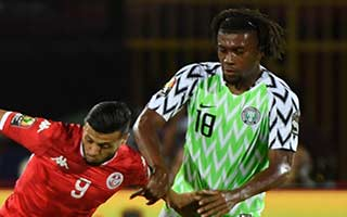Africa Cup of Nations 2019                             – 3rd and 4th Place Tunisia 0-1 Nigeria 17-07-2019